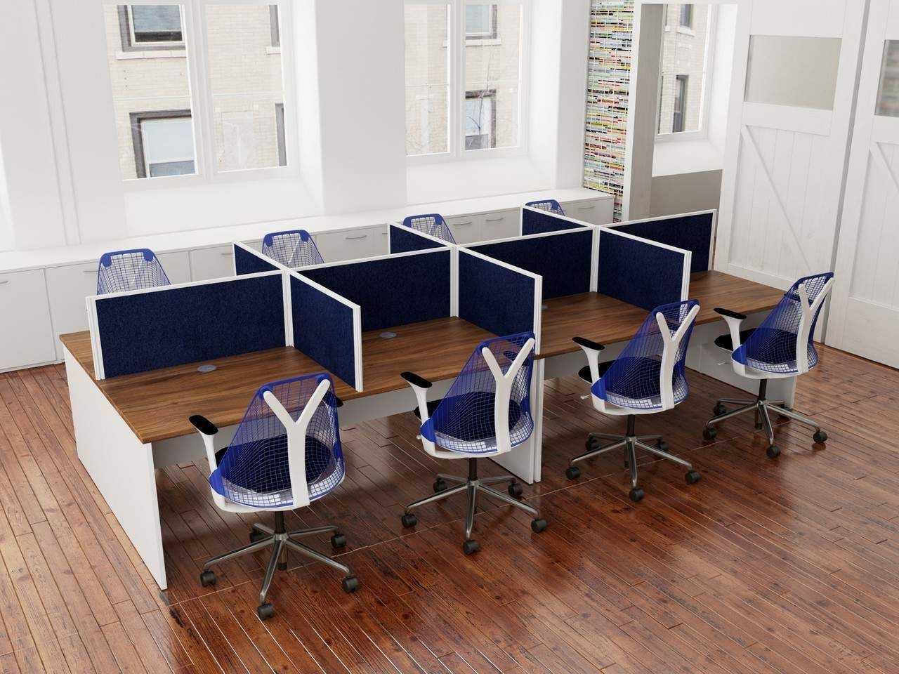 Tcs Rectangular Office Desk Call Center Workstations