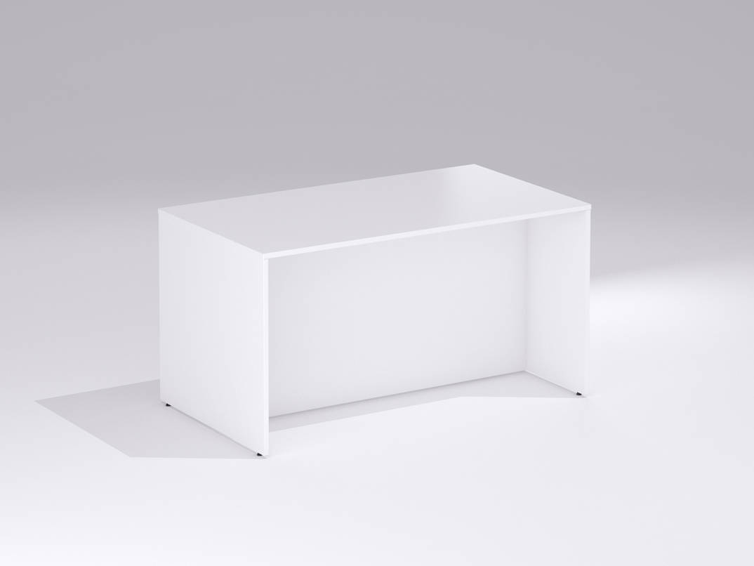 TCS Office Standing Breakout Bench Table on Panel End Base