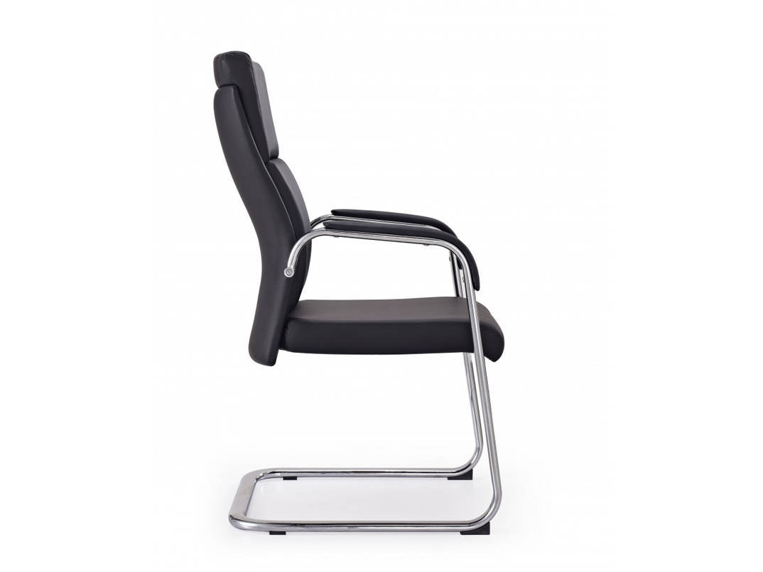 Harvard Cantilever Leather Meeting Chair