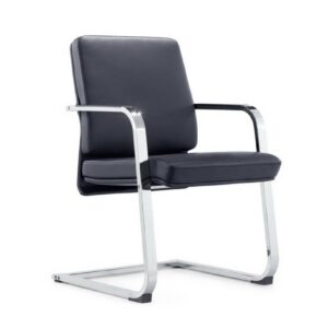 Inter Cantilever Leather Meeting Chair