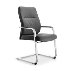 Ultra Cantilever Leather Meeting Chair