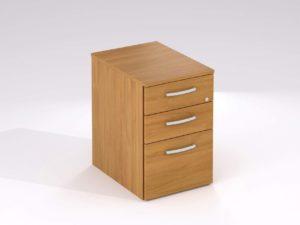 TCS 3 Drawer Under Desk Mobile Pedestal