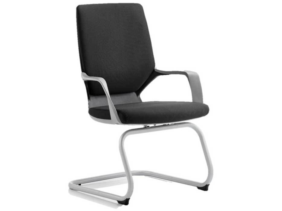 Xenon Fabric Executive Cantilever Office Chair in Black or Blue