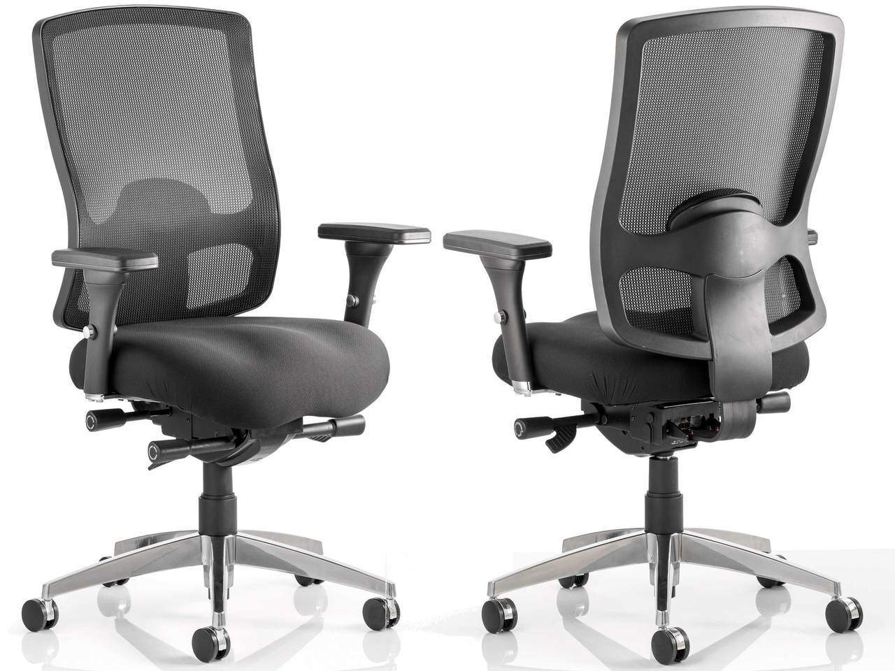 Regent Black Mesh Back Task Operator Office Chair