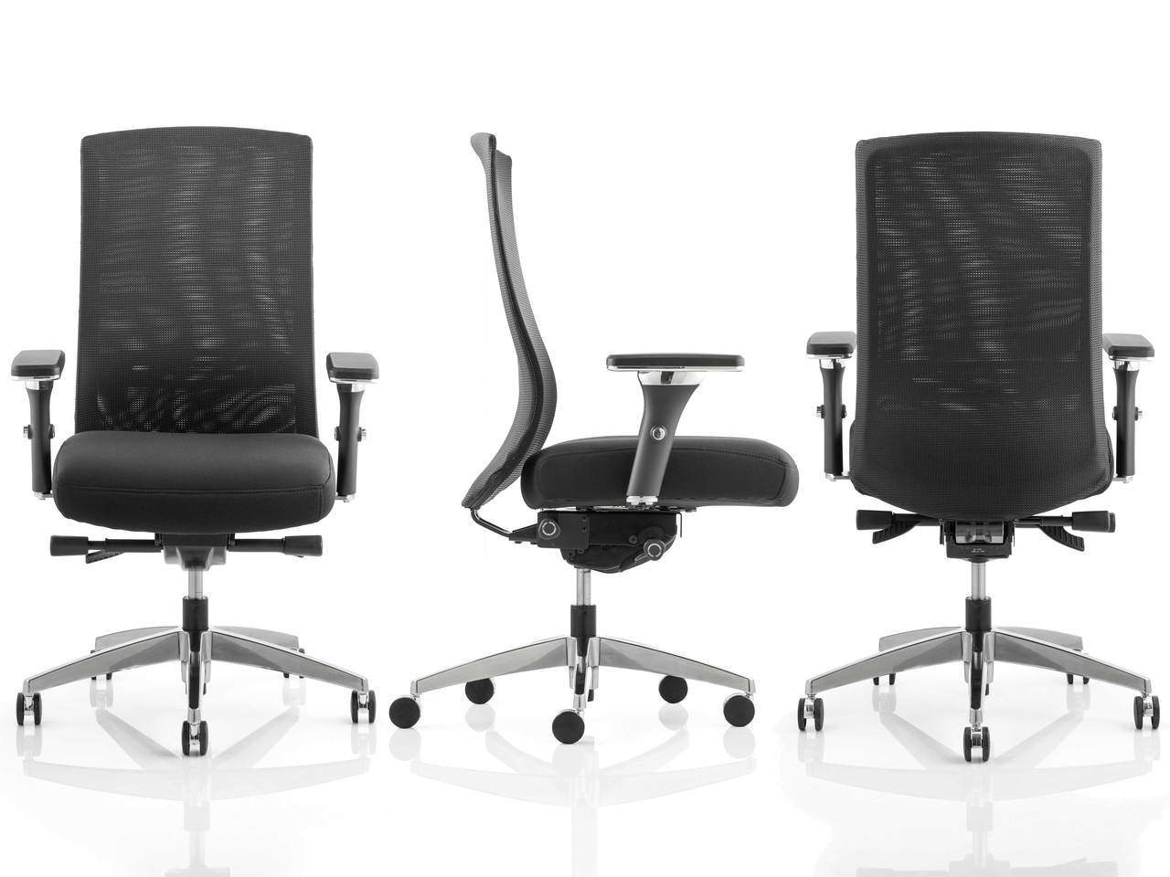 Tesla Black Mesh Task Operator Office Chair