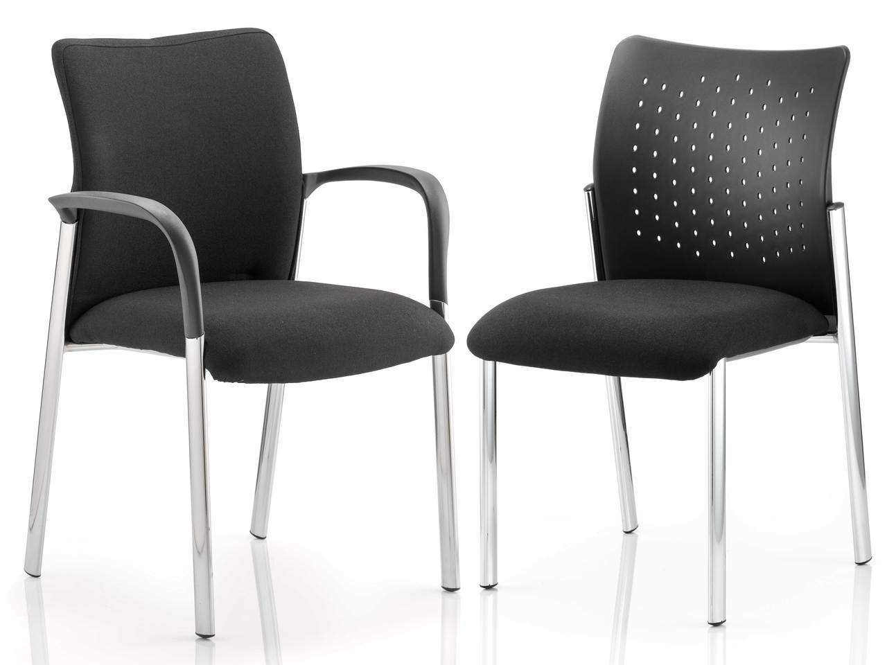 Academy Visitor Meeting Chair in Black