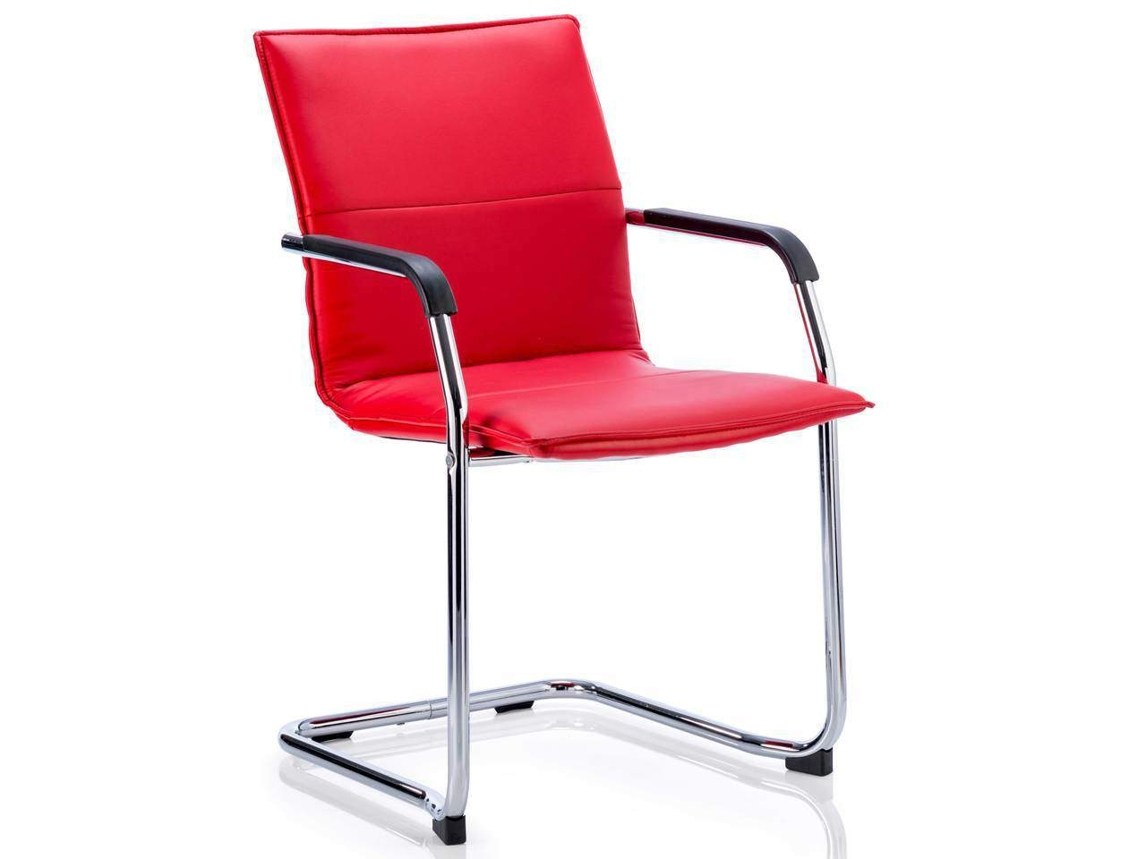 Echo Leather Visitor Cantilever Office Meeting Chair