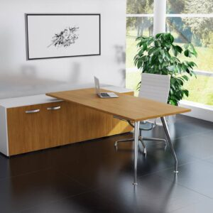 TCS Capri Executive Office Desk with Built-in Storage