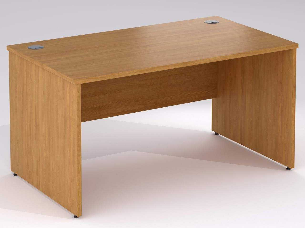 TCS nTree Rectangular Panel End Office Desk
