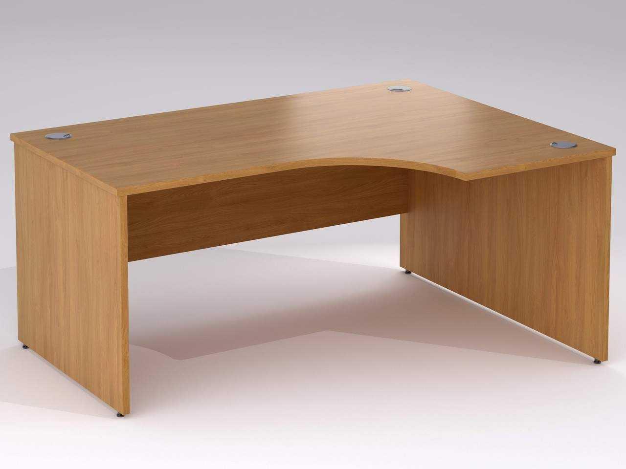 TCS nTree Panel End Simple Corner Office Desk