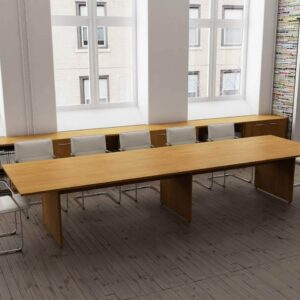 TCS Meeting Table on Panel Base Choice of Shape & Finish