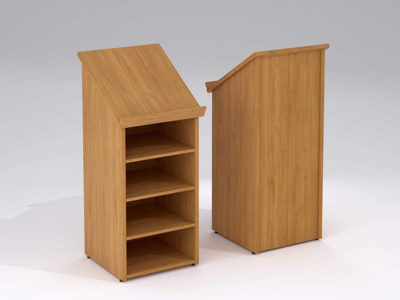 TCS nTree Presentation Podium Lectern with Open Shelving Storage