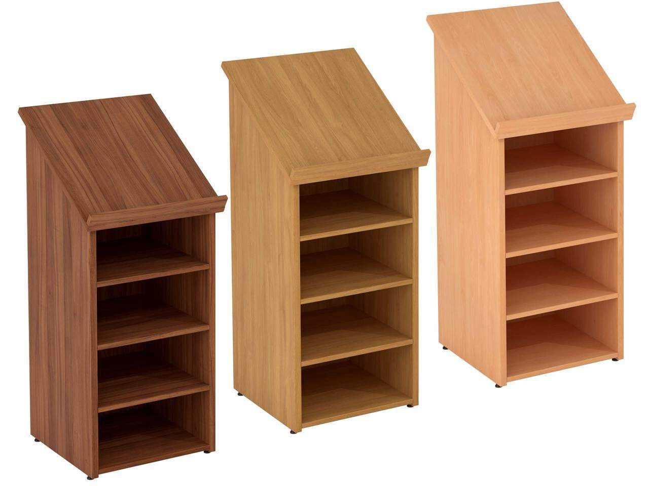 TCS nTree Presentation Podium Lectern with Open Shelving Storage