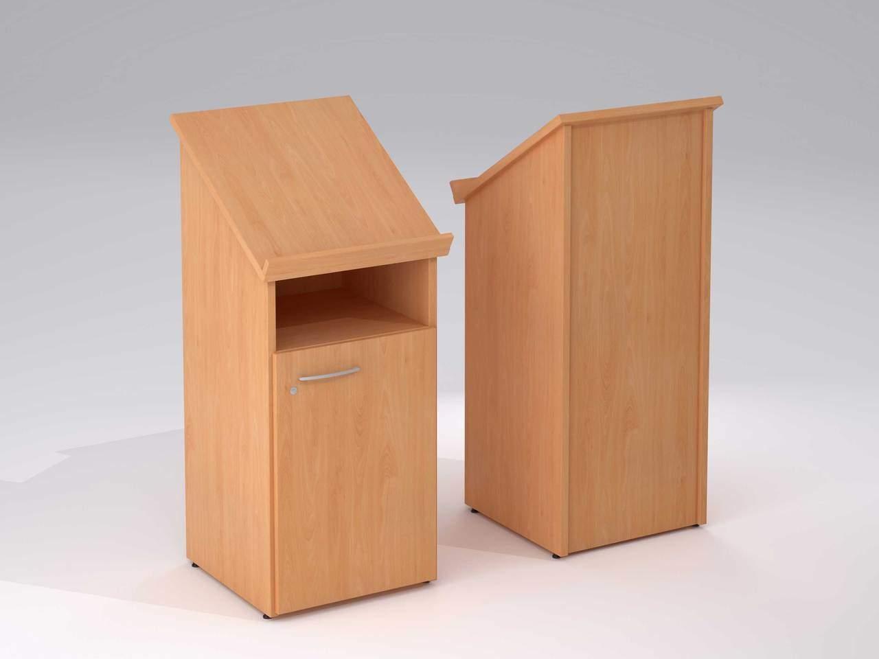 TCS nTree Presentation Podium Lectern with Cupboard