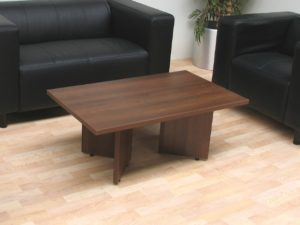 TCS Reception Coffee Table on Arrowhead Bases 1200 x 600