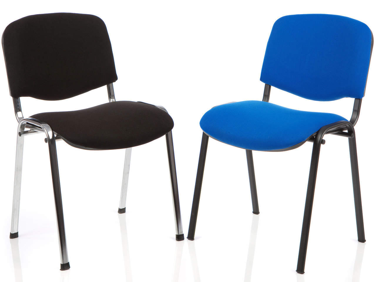 Iso Stackable Fabric Office Meeting Reception Chair Office