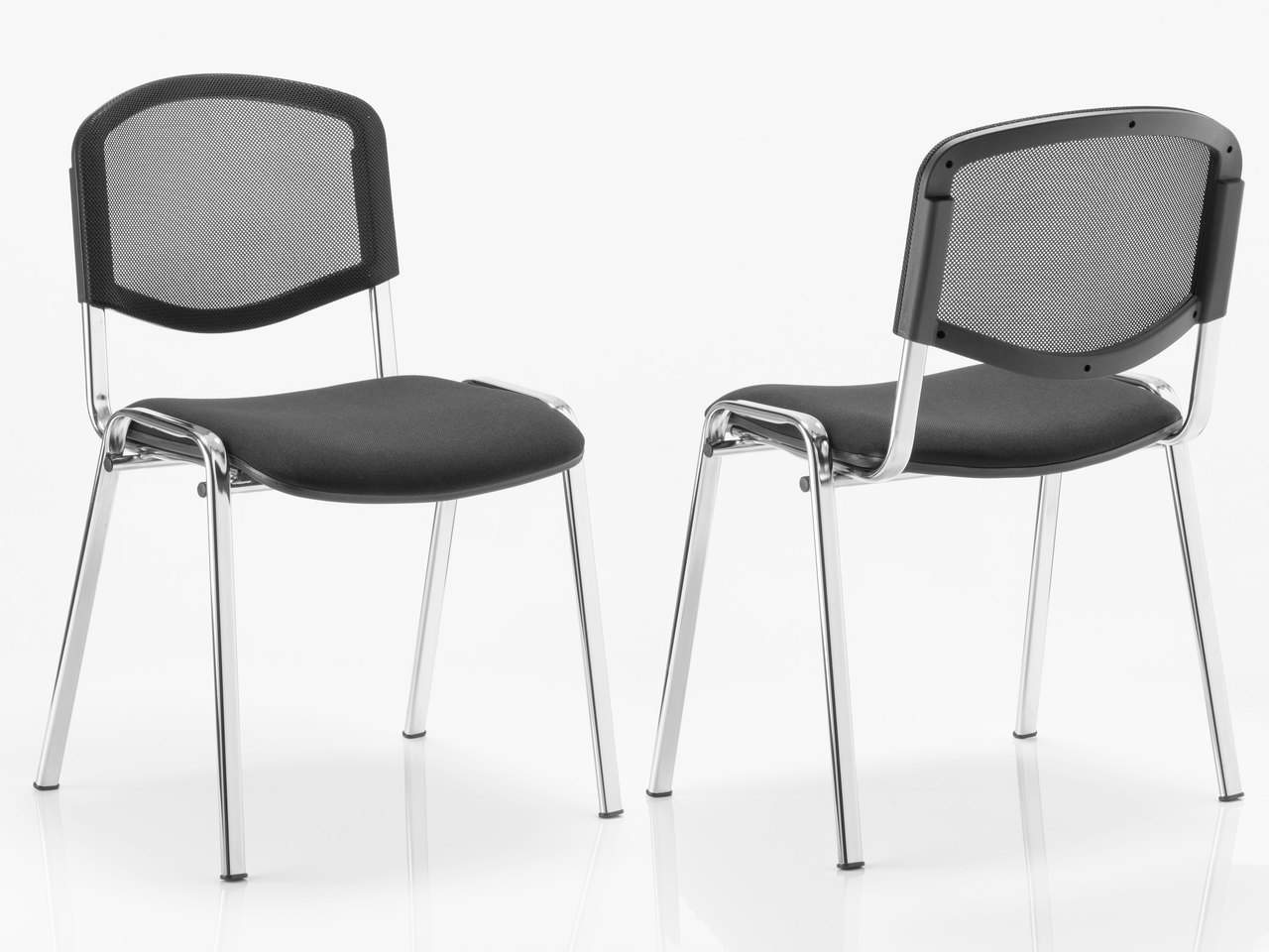 Iso Stackable Mesh Meeting Reception Chair