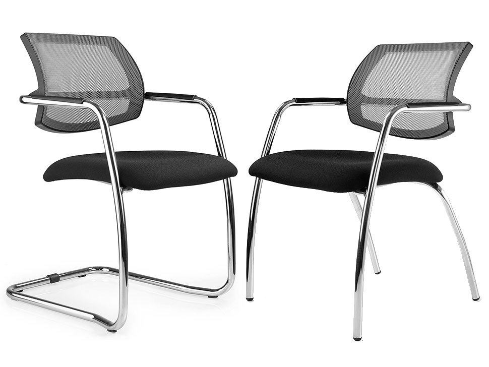 Breeze Mesh Stackable Visitor Meeting Chair