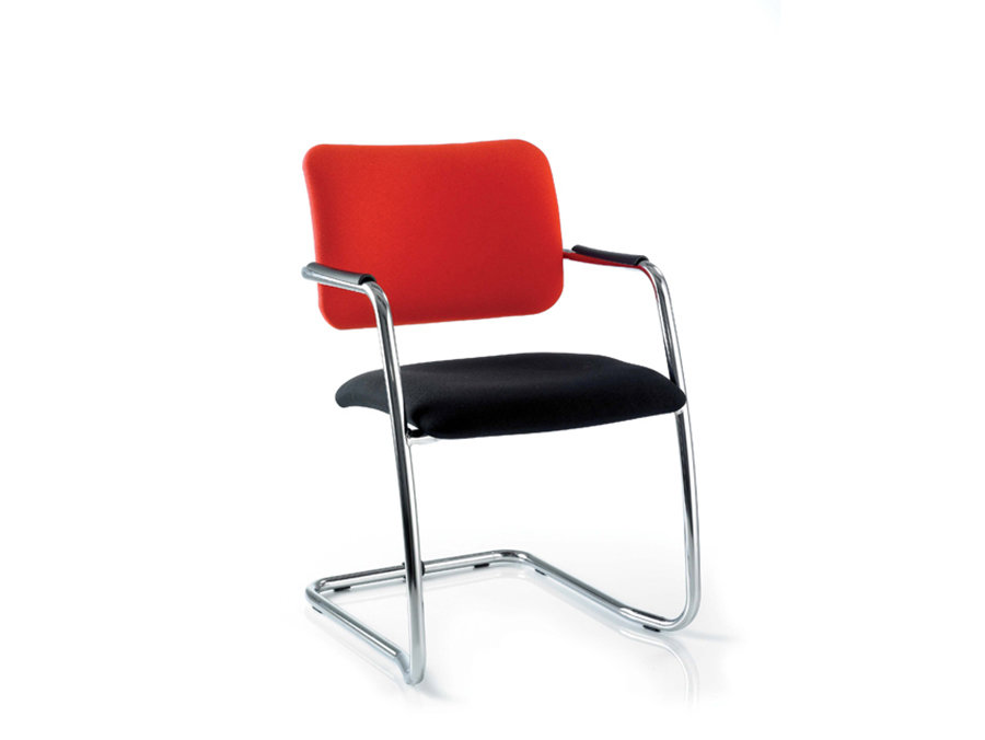 Breeze Fabric Stackable Medium and High Back Visitor Meeting Chair