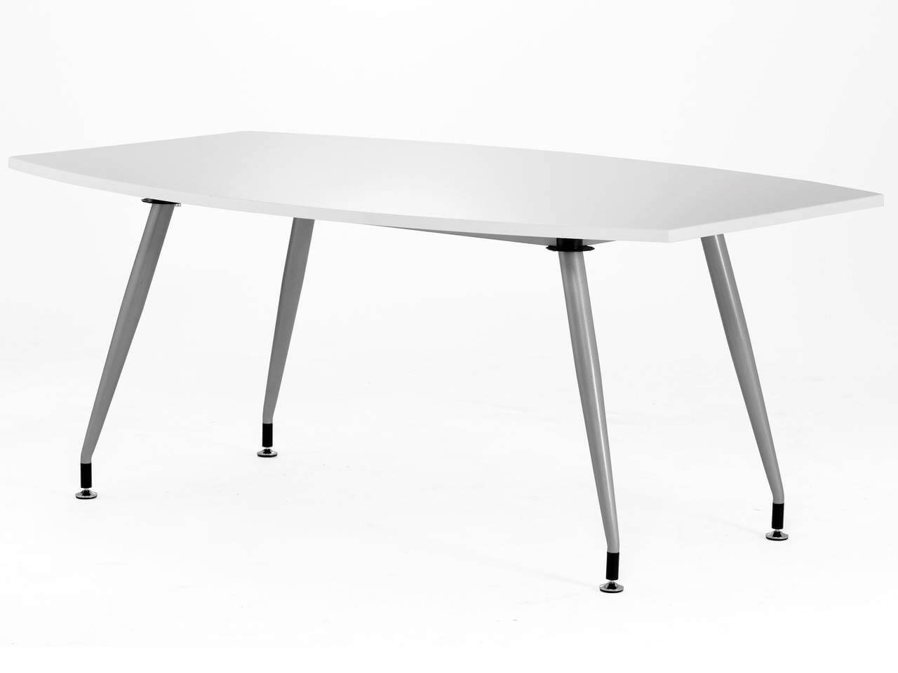 High Gloss Meeting Table in Black or White