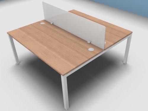 Buronomic Astrolite 2 Person Call Centre Bench Office Desk