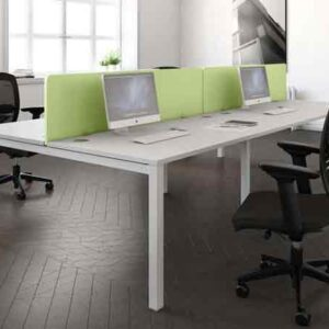Buronomic Astrolite 8 Person Call Centre Bench Office Desk
