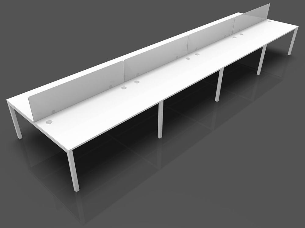 Stupendous Buronomic Astrolite 8 Person Bench Desk Cjindustries Chair Design For Home Cjindustriesco