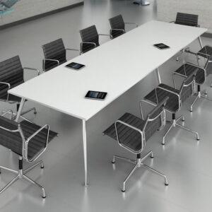 TCS Meeting Table on Capri Base Choice of Shape & Finish