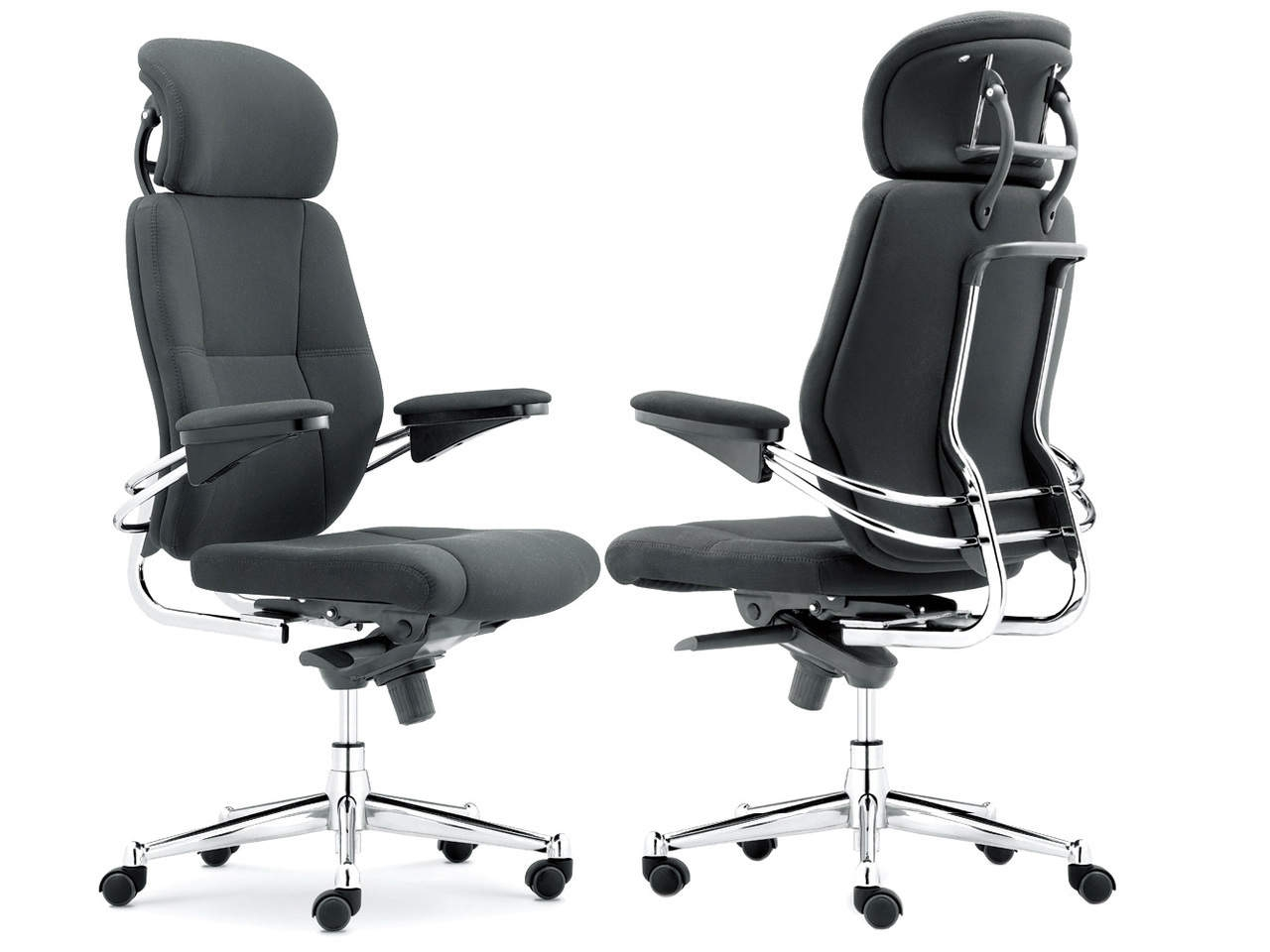Canyon High Back Executive Chair with Headrest