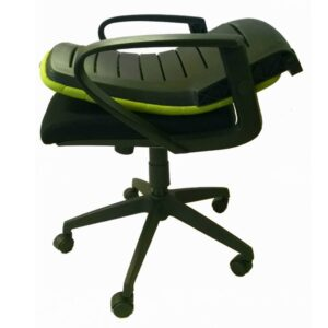 Oyster Folding Back Operator Chair In Black Green Or Orange