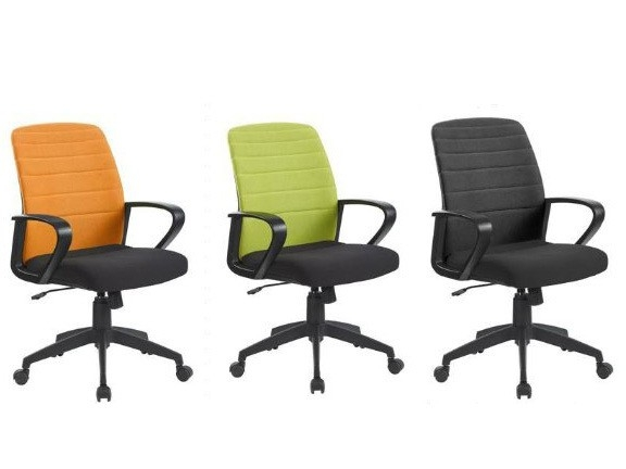 Oyster Folding Back Operator Chair in Black, Green or Orange