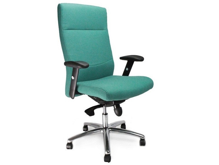 Jester Fabric High Back Executive Chair in Black, Blue, Red or Green