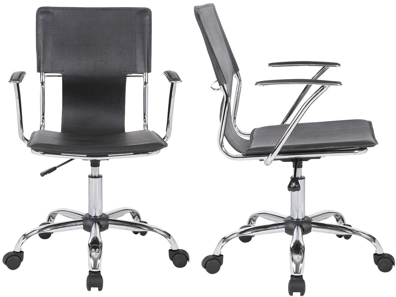 Trento Stylish Designer Executive Chair in Black or White