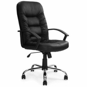 Fleet Leather Faced High Back Executive Chair