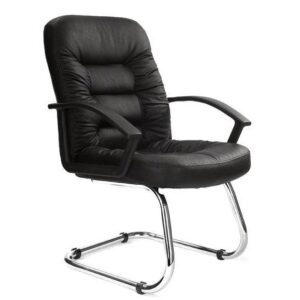 Fleet Leather Faced Meeting Visitor Chair