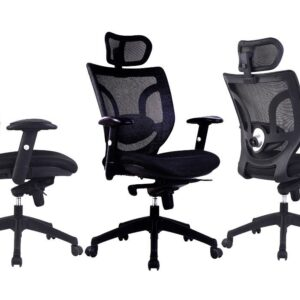 Newton Mesh High Back Executive Operator Chair with Headrest