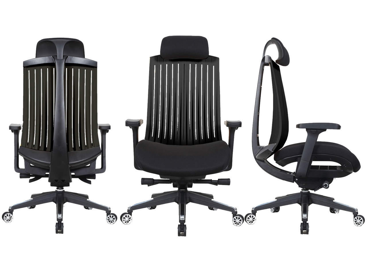 Shard High Back Designer Shell Executive Chair