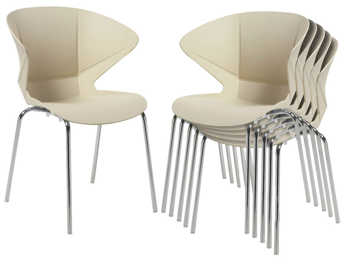 Pair of Cappuccino Cafe Bistro Chairs