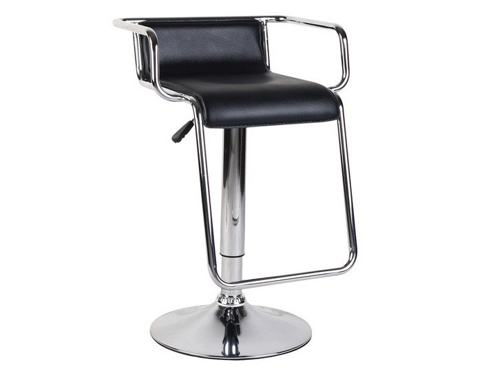 Pair of Miami Contemporary Leather Effect Bar Stools