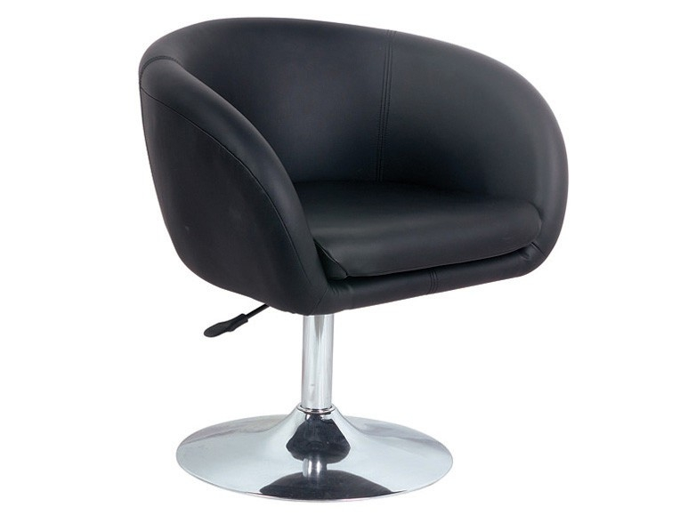 Alaska Contemporary Leather Effect Lounge Reception Chair