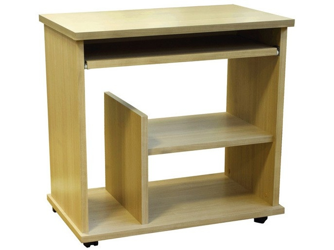 Cullen Home Office Desk Workstation in Beech, Walnut, White or Wenge