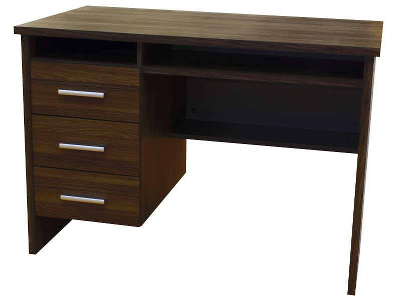 Montana Home Office Desk Workstation in Light Oak or Black