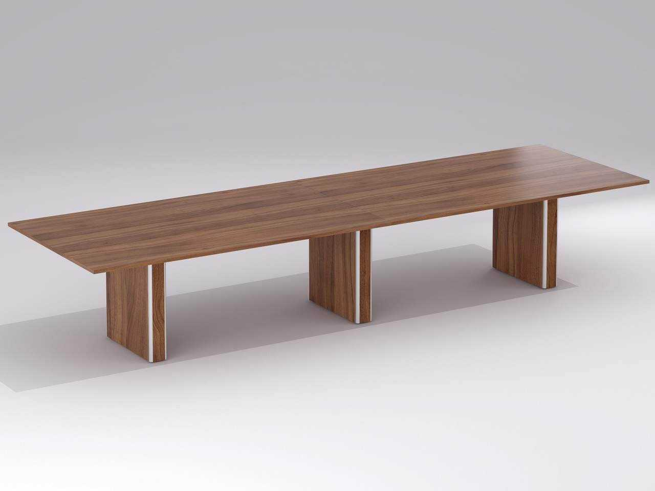 TCS Meeting Table on Box Bases Choice of Shape & Finish