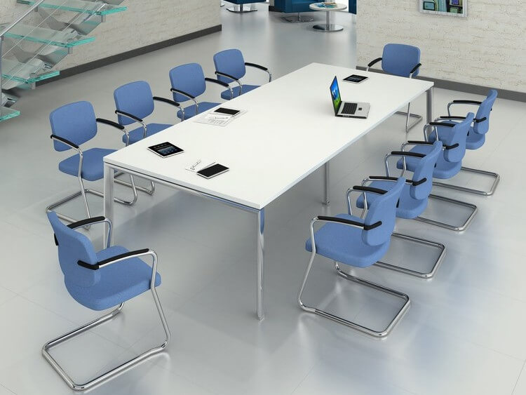 TCS Meeting Table on Geneva Base Choice of Frame & Table Colour