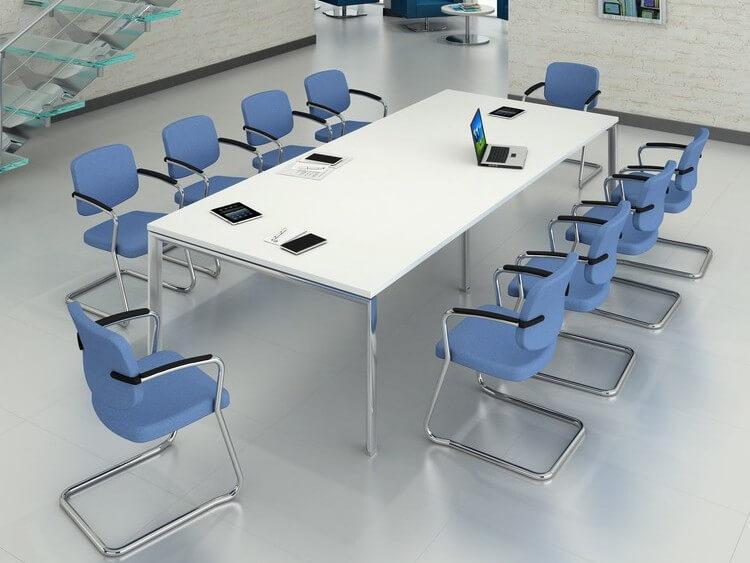 TCS Meeting Table on Geneva Base Choice of Frame & Table Colour