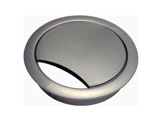 Silver / Grey Cable Outlet Grommet 80mm Diameter