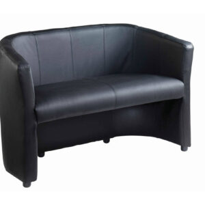 NEXT DAY: London Leather Reception Tub Chair & 2 Seater