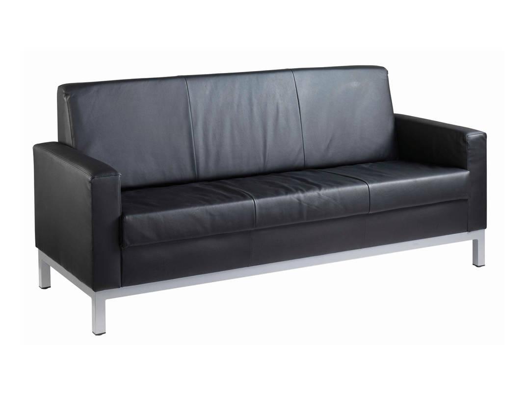 NEXT DAY: Helsinki Leather Reception / Visitor Sofa