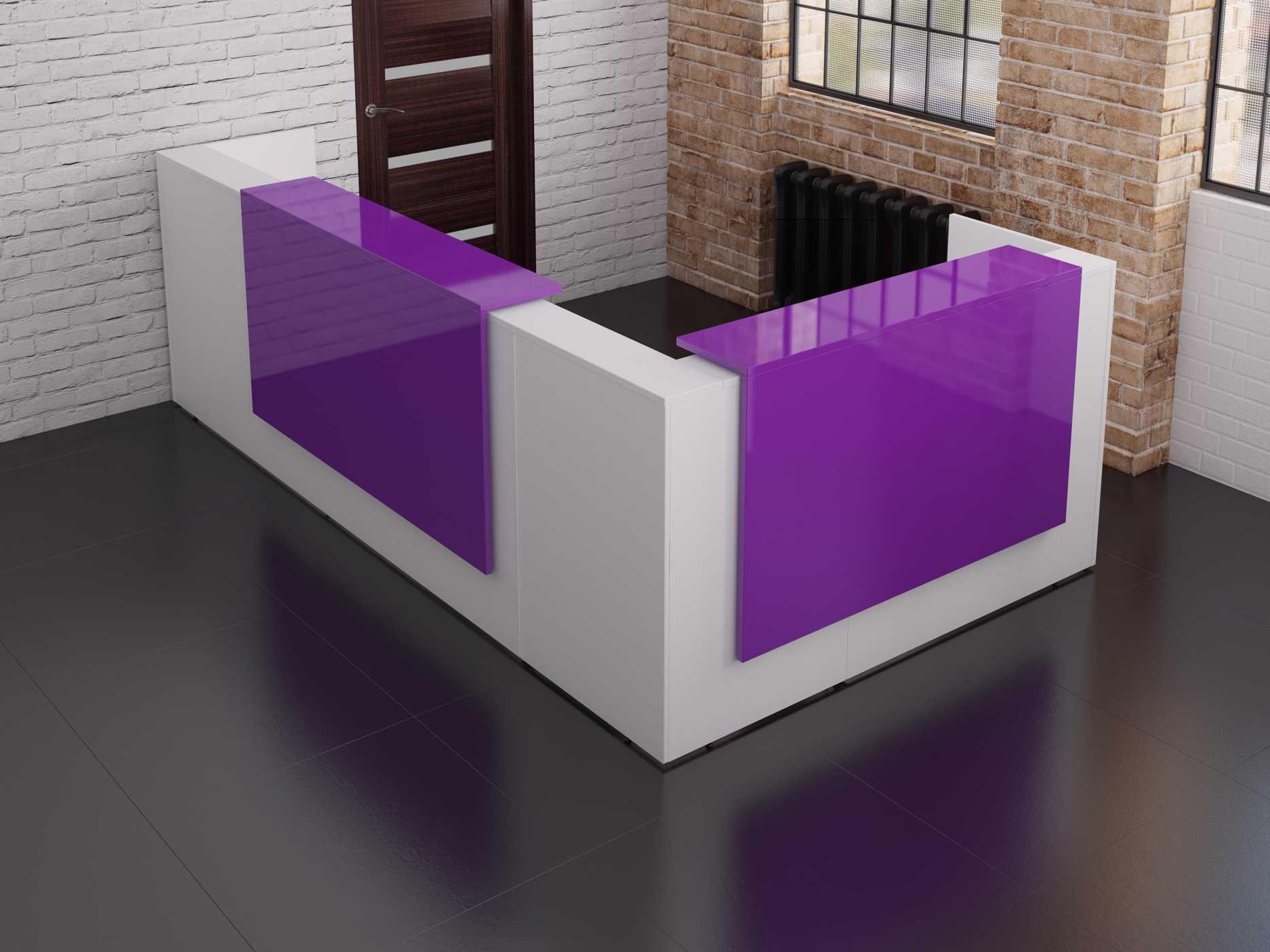 White Floating Desk