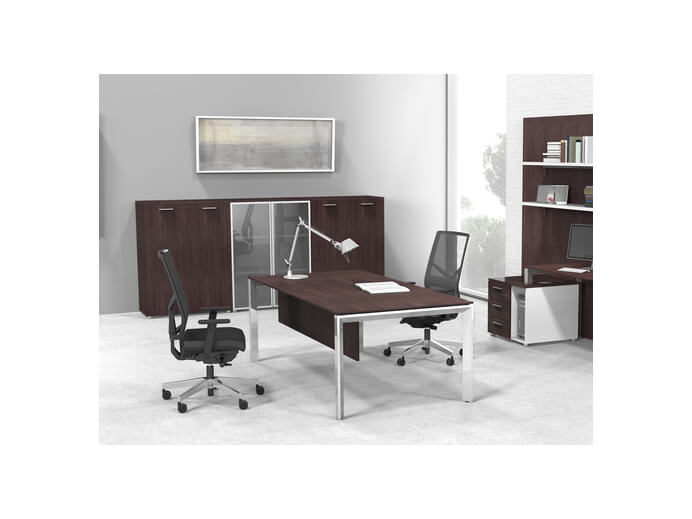 Tcs Geneva Rectangular Executive Office Desk Rapid Office Furniture
